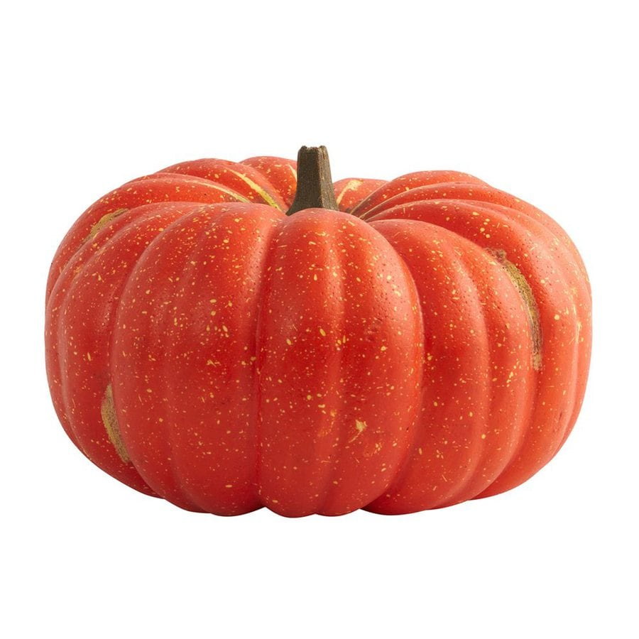 Nearly Natural Perfect Pumpkin Tabletop Pumpkin Sculpture