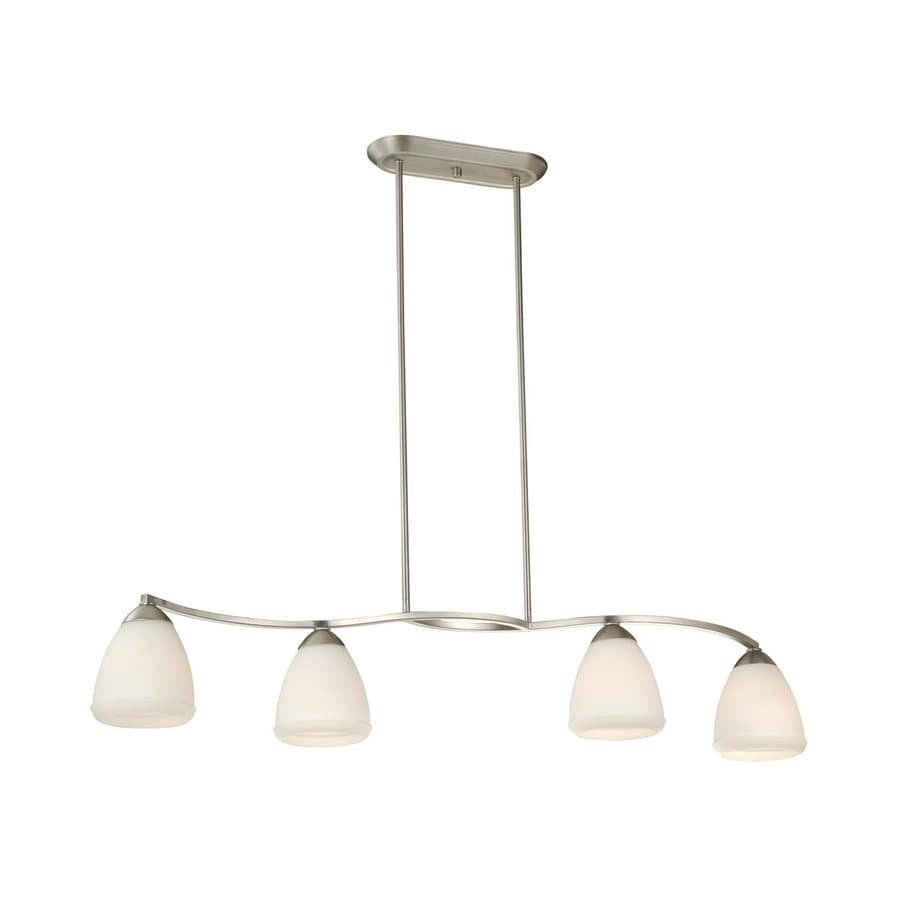 Shop Cascadia Helsinki 10-in W 4-Light Brushed Nickel