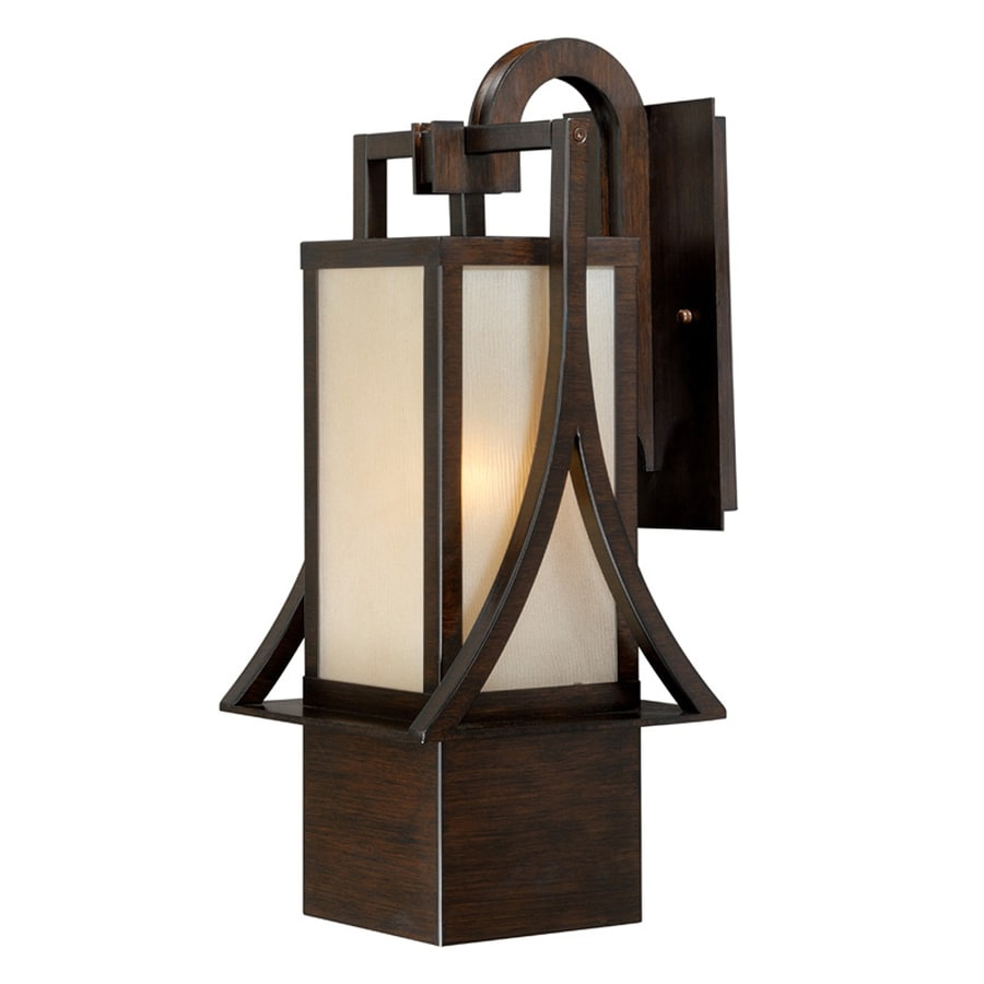 Cascadia Osaka 19.5-in H Venetian Bronze Outdoor Wall Light