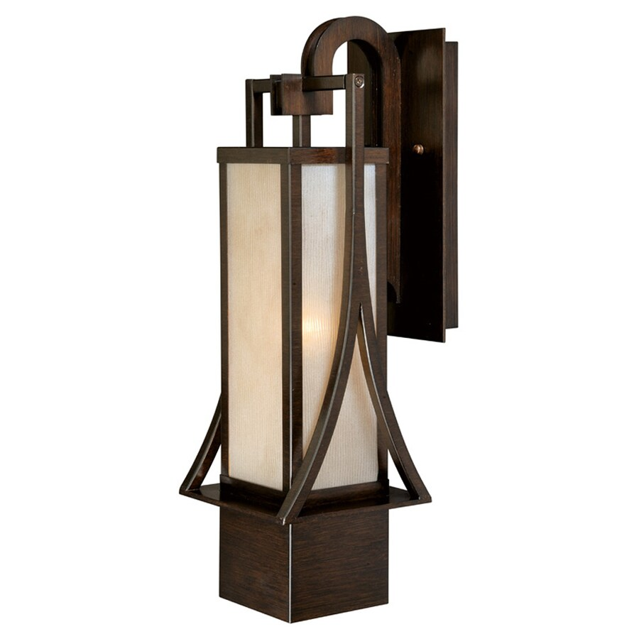 Cascadia Osaka 20-in H Venetian Bronze Outdoor Wall Light