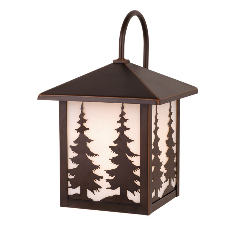 Cascadia Yosemite 12.5-in H Burnished Bronze Outdoor Wall Light