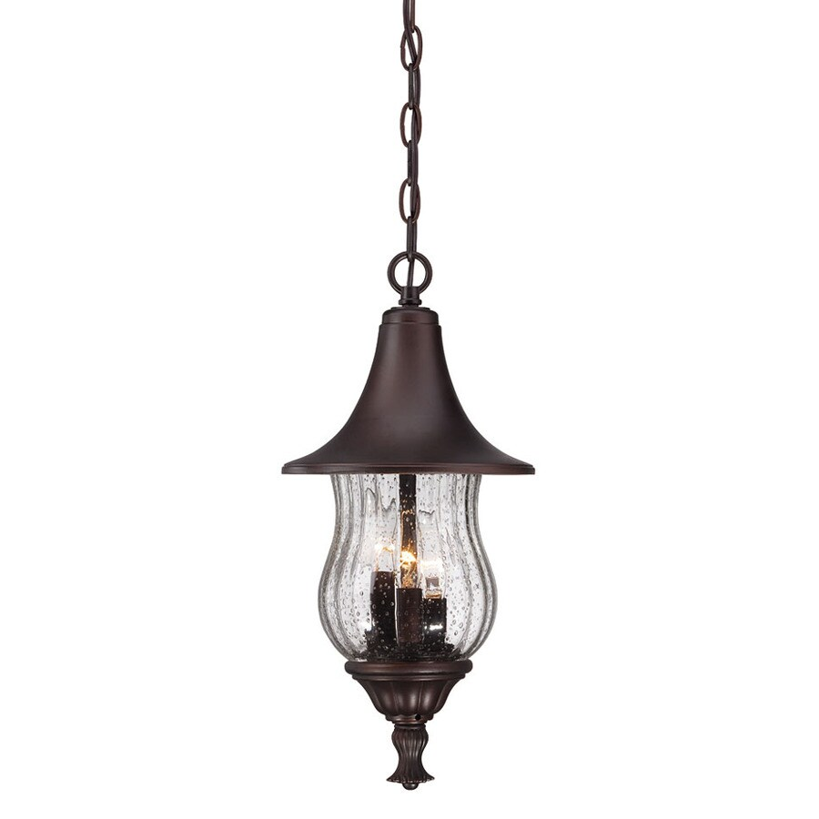 Acclaim Lighting Del Rio 18-in Architectural Bronze Outdoor Pendant Light