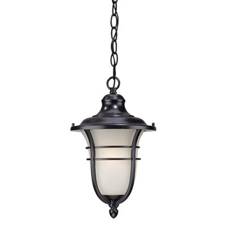 Acclaim Lighting Montclair 15.25-in Matte Black Outdoor Pendant Light