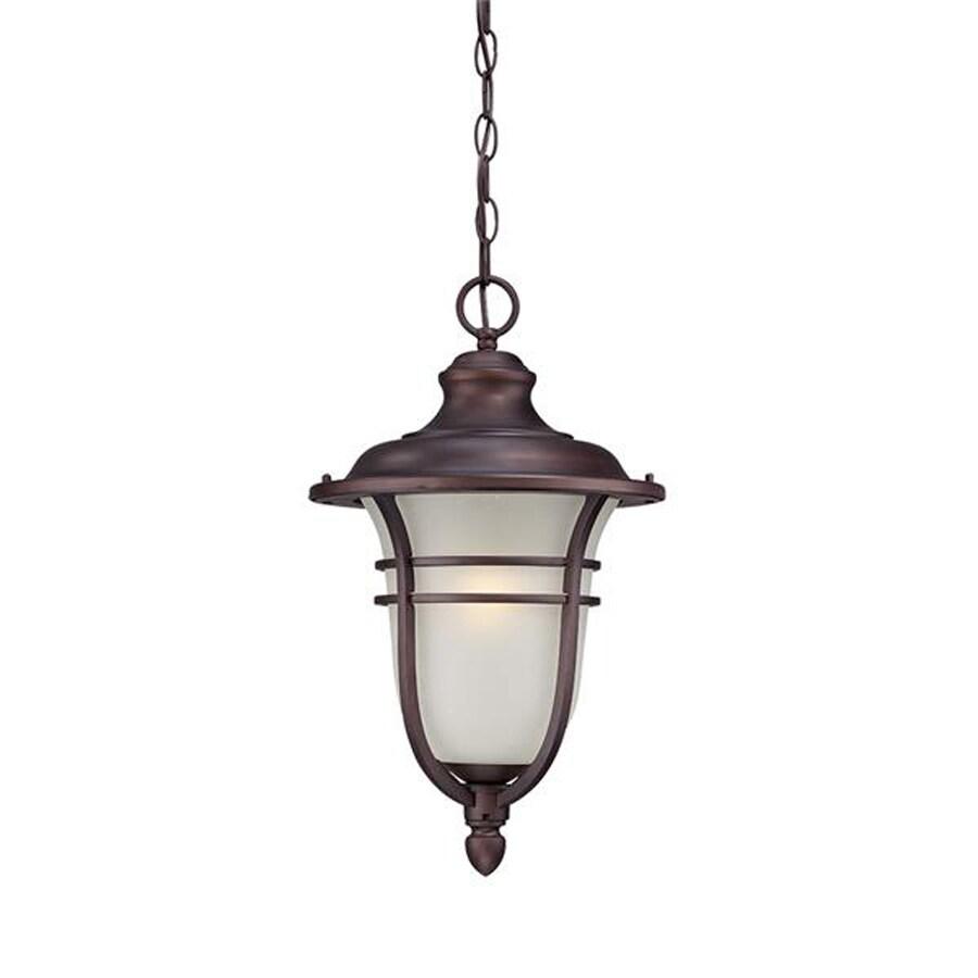 Acclaim Lighting Montclair 18-in Architectural Bronze Outdoor Pendant Light