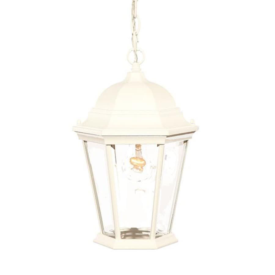 Acclaim Lighting Richmond 14-in Textured White Outdoor Pendant Light