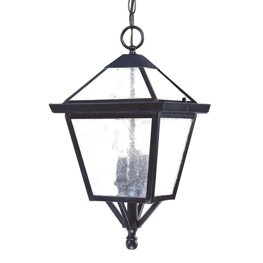 Acclaim Lighting Charleston 18-in Matte Black Outdoor Pendant Light