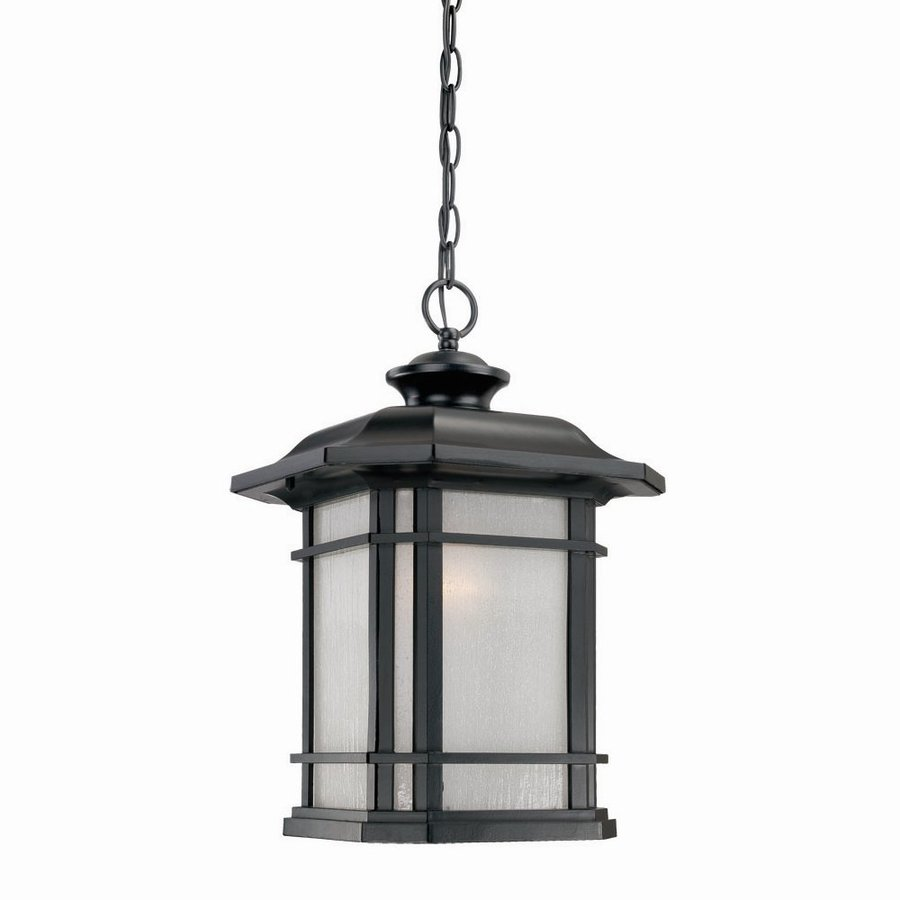 Acclaim Lighting Somerset 17.25-in Matte Black Outdoor Pendant Light