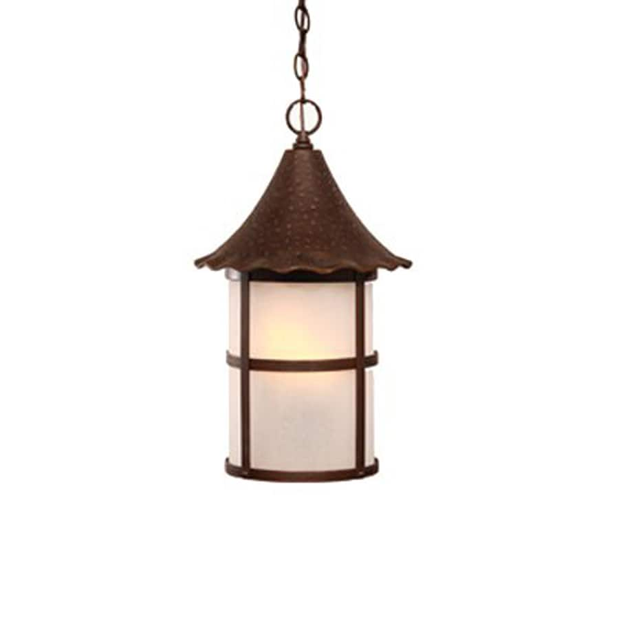 Acclaim Lighting Ashton 19-in Architectural Bronze Outdoor Pendant Light