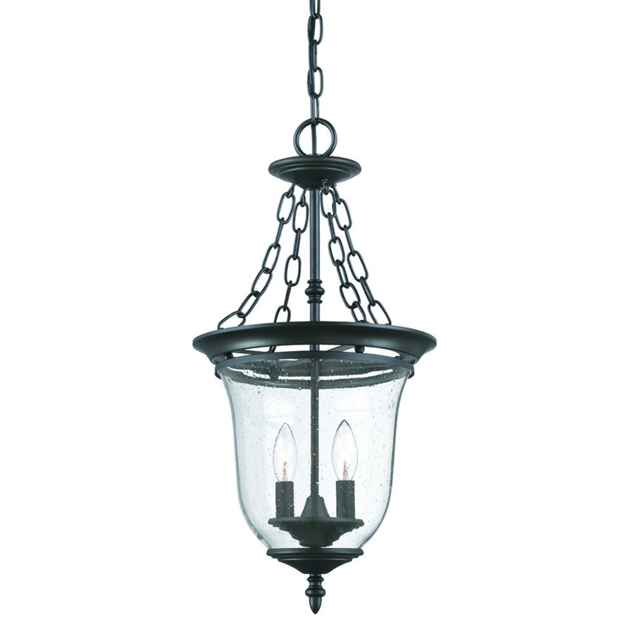 Shop acclaim lighting bay street matte black Outdoor pendant lighting