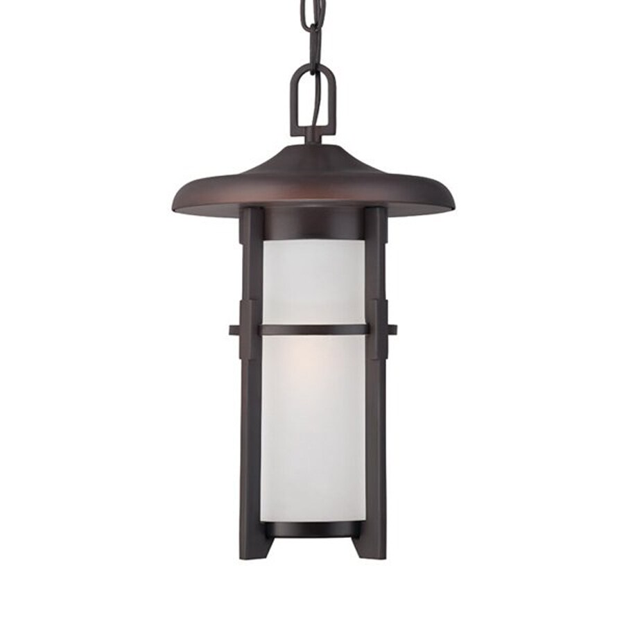 Acclaim Lighting Luma 15.375-in Architectural Bronze Outdoor Pendant Light