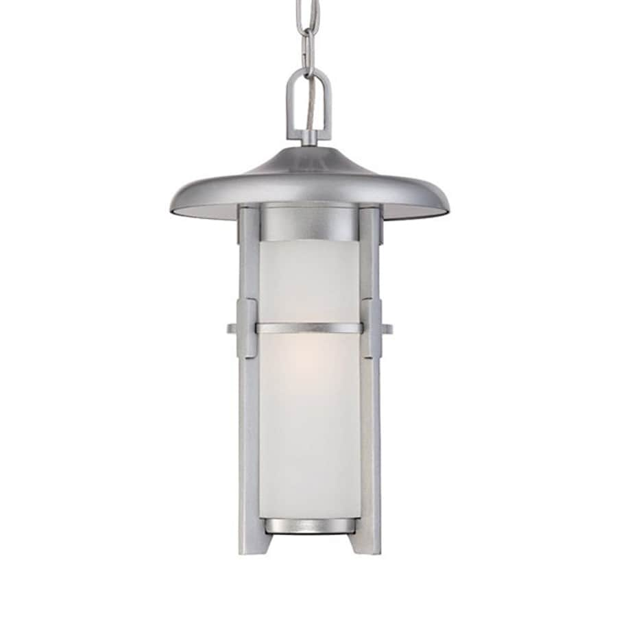 Acclaim Lighting Luma 15.375-in Brushed Silver Outdoor Pendant Light