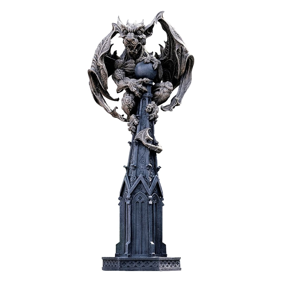 Design Toscano Raptor Gargoyle Surveyor Of The Realm 30-in Garden Statue