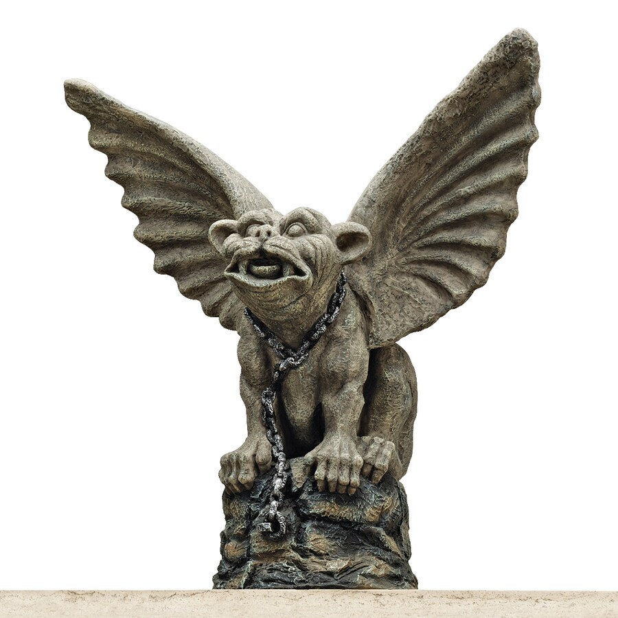 Shop Design Toscano Chained Cathedral Gargoyle 17 in