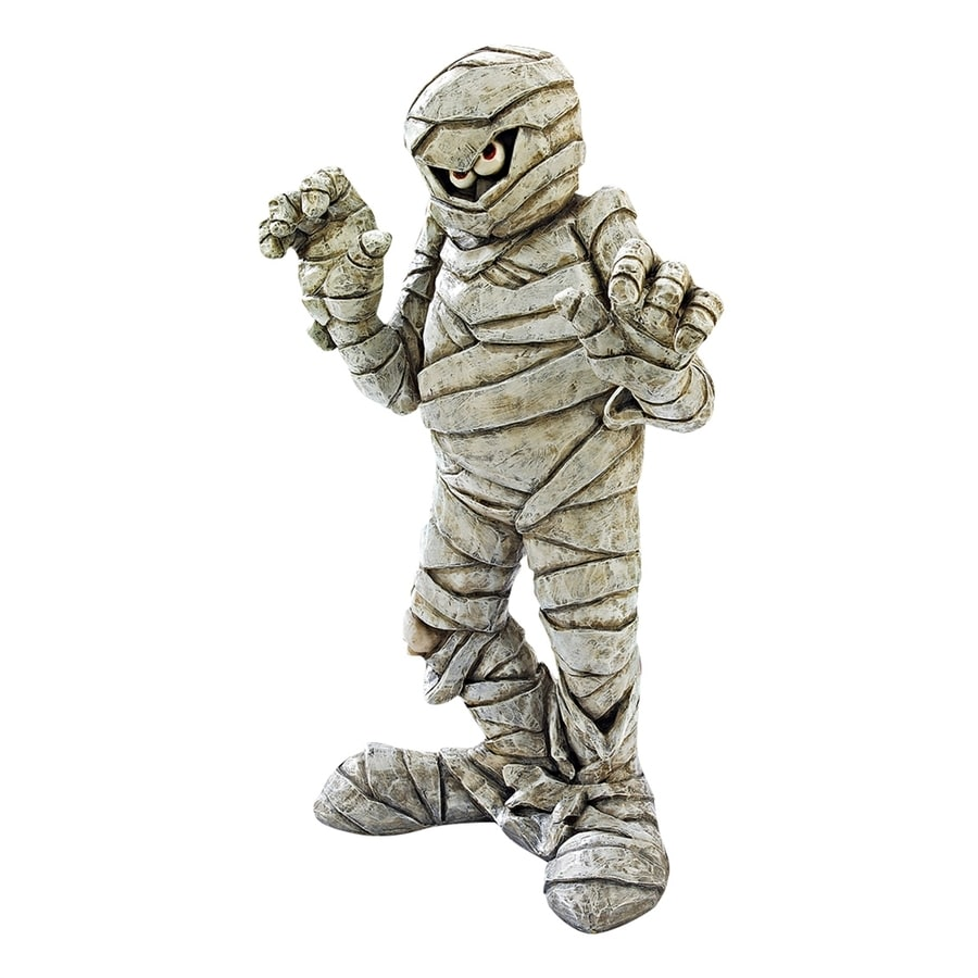 Design Toscano Wrapped Too Tight Freestanding Mummy Statue