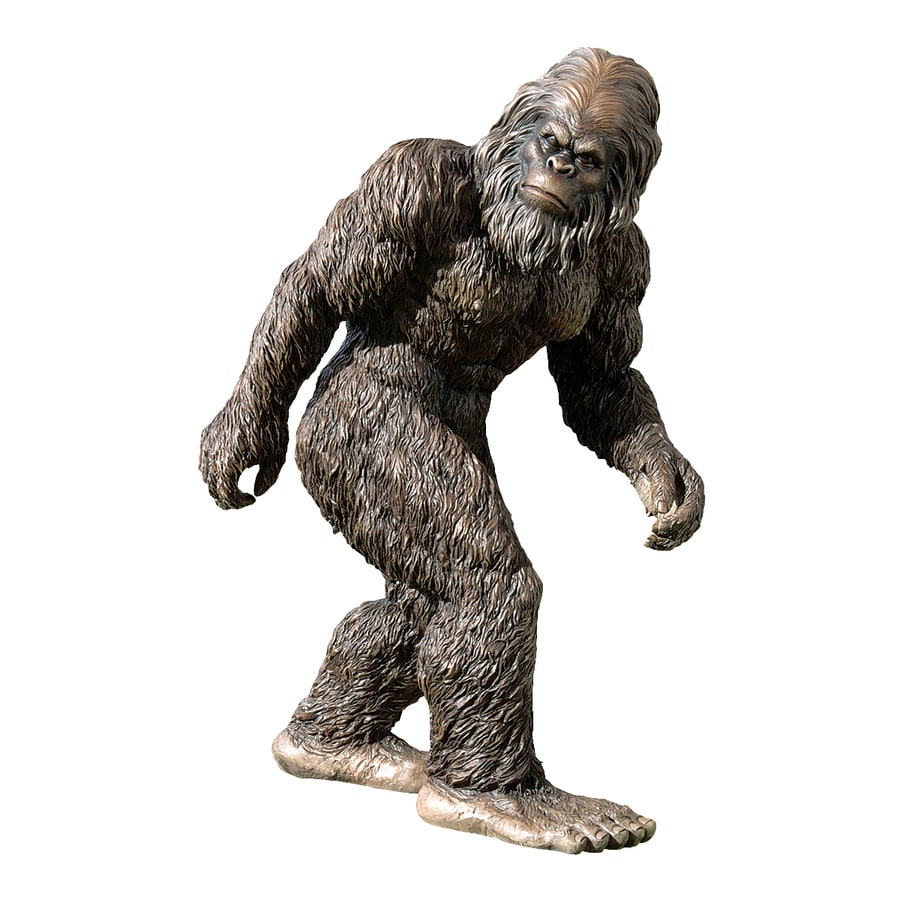 Design Toscano Bigfoot The Garden Yeti 21 In Garden Statue
