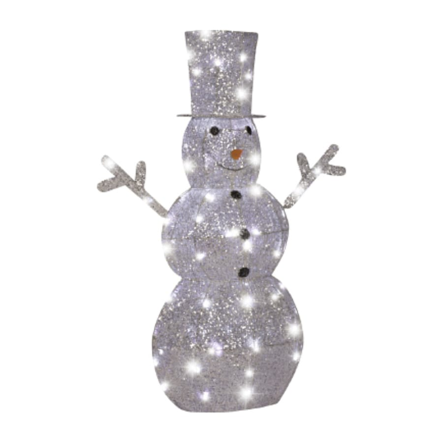 Gemmy Snowman Outdoor Christmas Decoration at Lowes.com