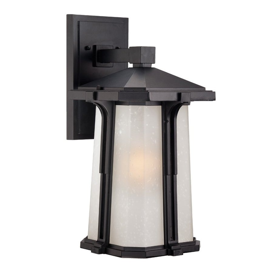 Acclaim Lighting Illuma 16.25-in H Matte Black Outdoor Wall Light