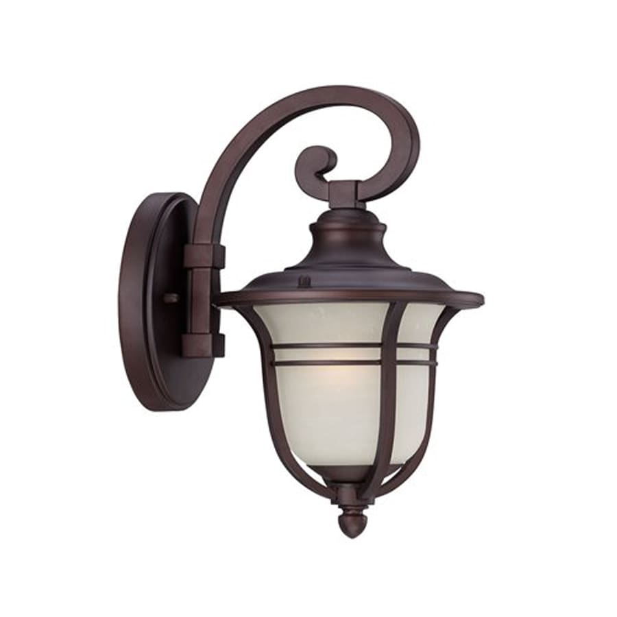 Acclaim Lighting Montclair 13.75-in H Architectural Bronze  Medium Base (E-26) Outdoor Wall Light