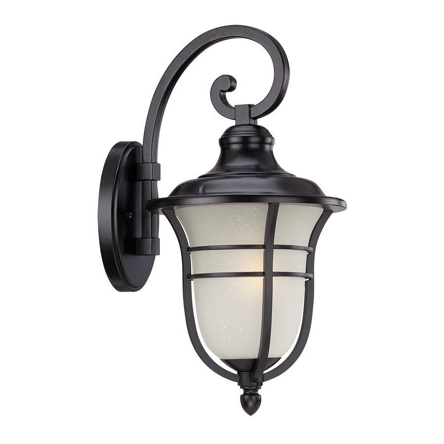 Acclaim Lighting Montclair 18-in H Matte Black Outdoor Wall Light
