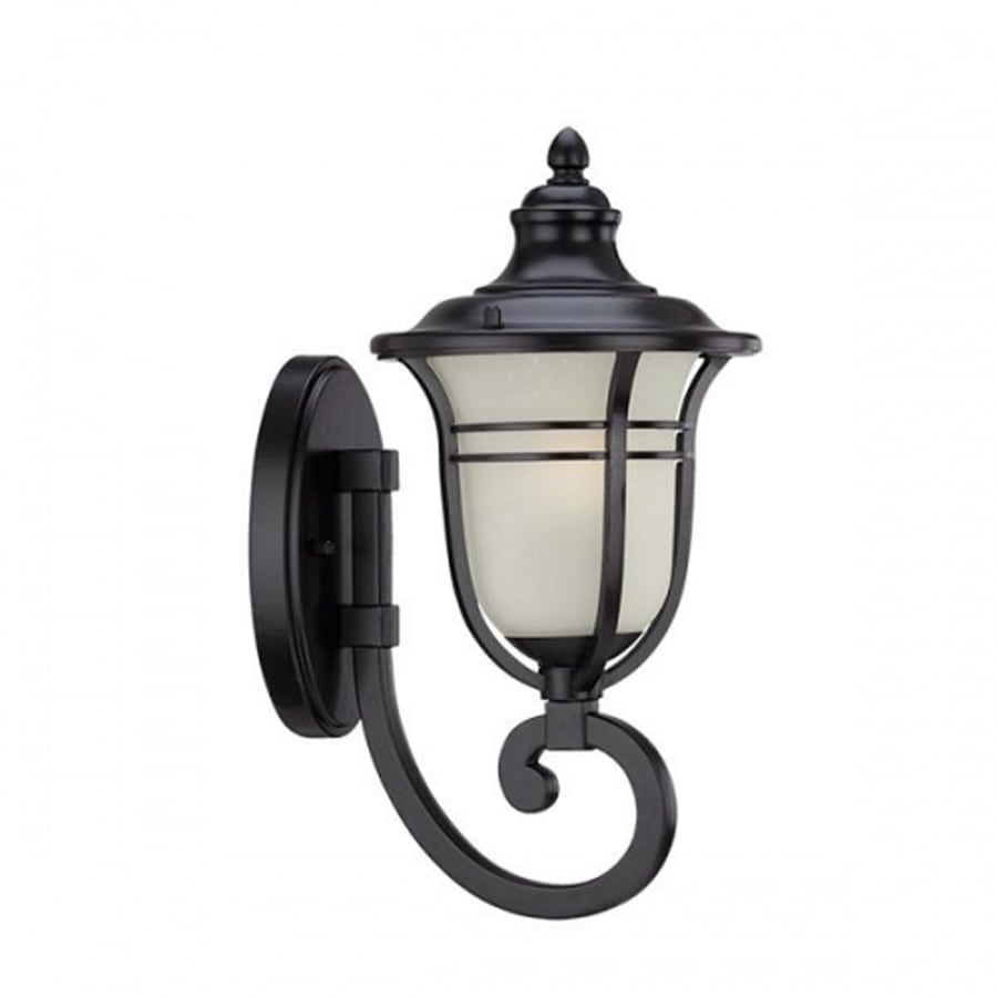 Acclaim Lighting Montclair 21.5-in H Matte Black Outdoor Wall Light