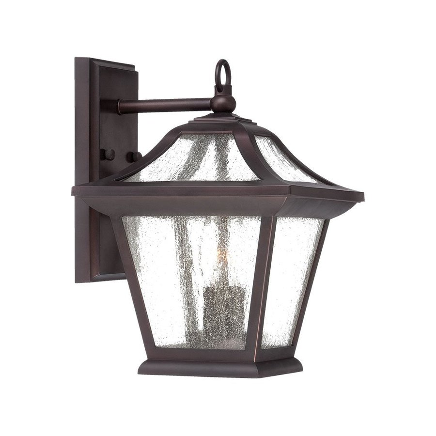 Acclaim Lighting Aiken 12.625-in H Architectural Bronze Outdoor Wall Light