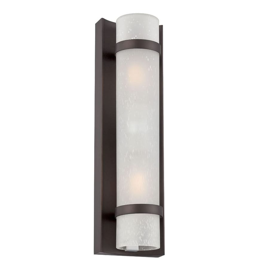 Acclaim Lighting Apollo 15.38-in H Architectural Bronze  Medium Base (E-26) Outdoor Wall Light