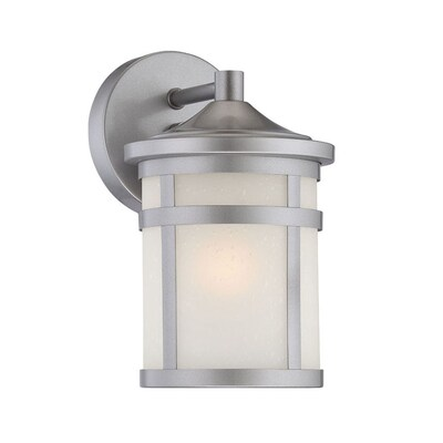 Acclaim Lighting Visage 9 In H Brushed Silver Medium Base E