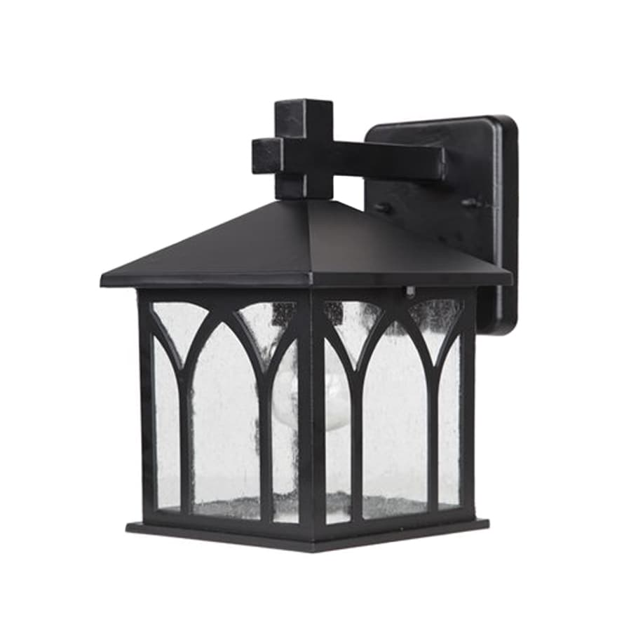 Acclaim Lighting Builder's Choice 11.5-in H Matte Black  Medium Base (E-26) Outdoor Wall Light