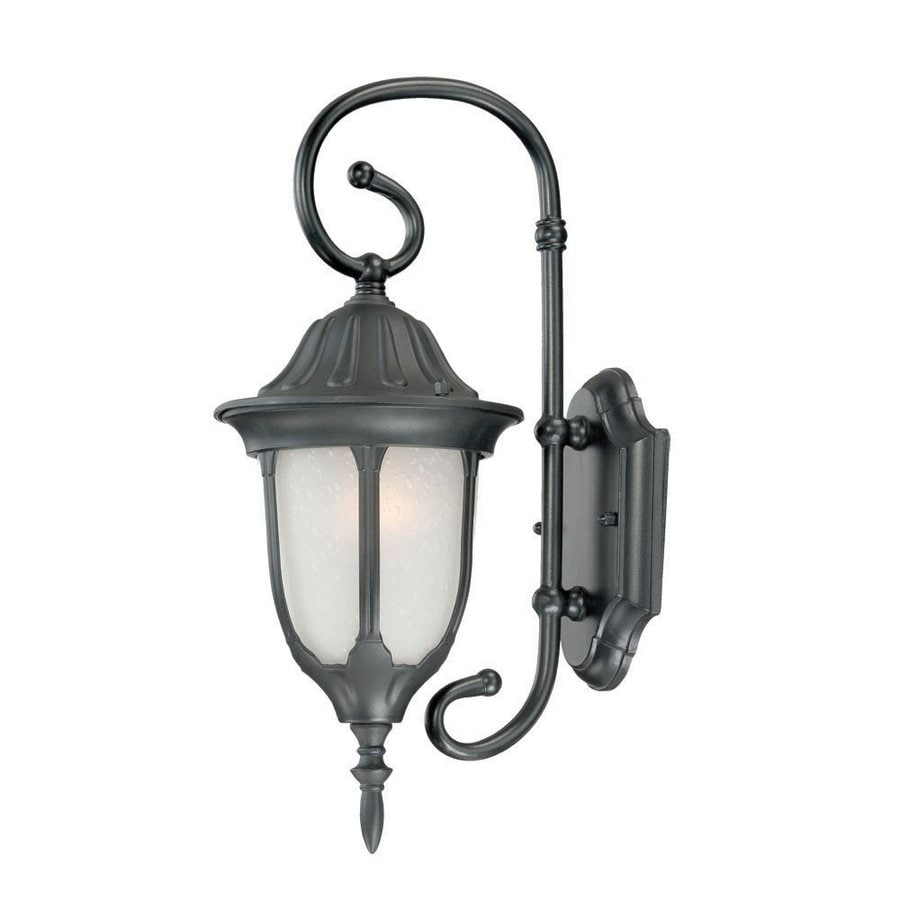 Acclaim Lighting Suffolk 16-in H Matte Black Outdoor Wall Light