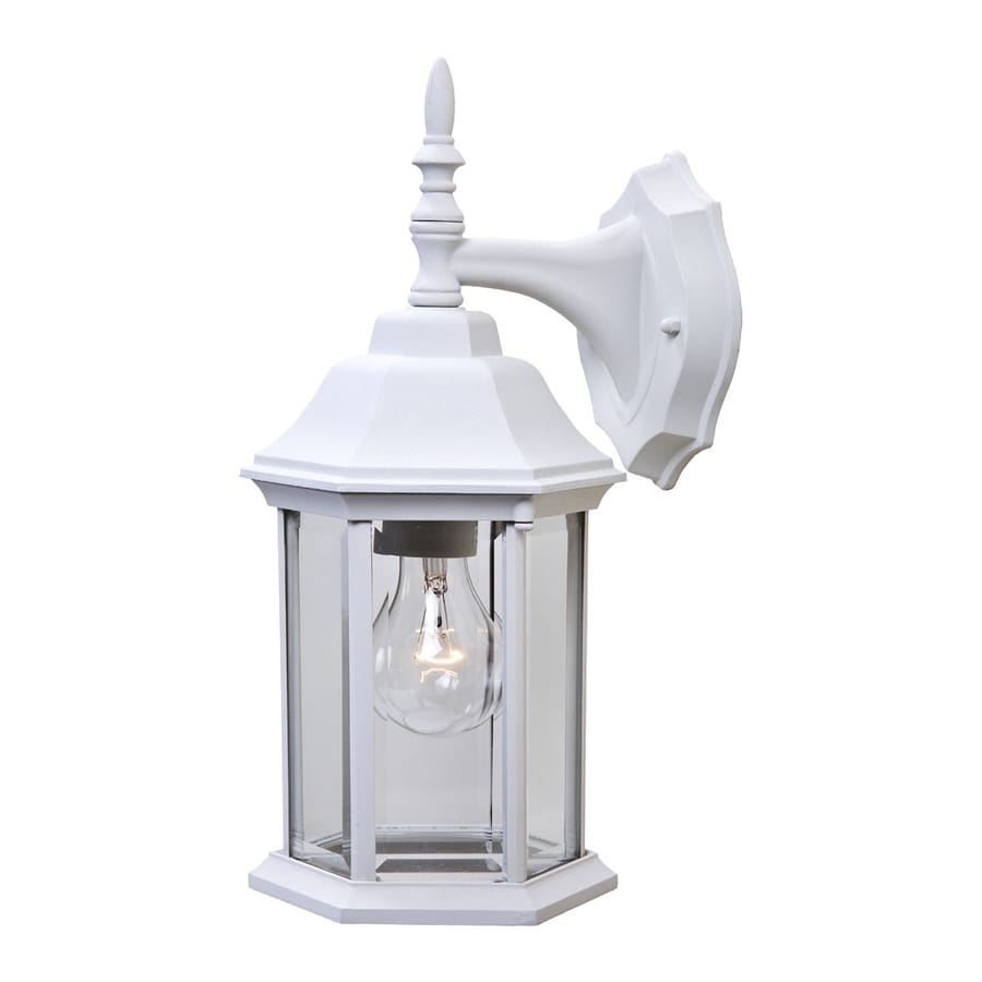 Acclaim Lighting Craftsman 2 13-in H Textured White  Medium Base (E-26) Outdoor Wall Light