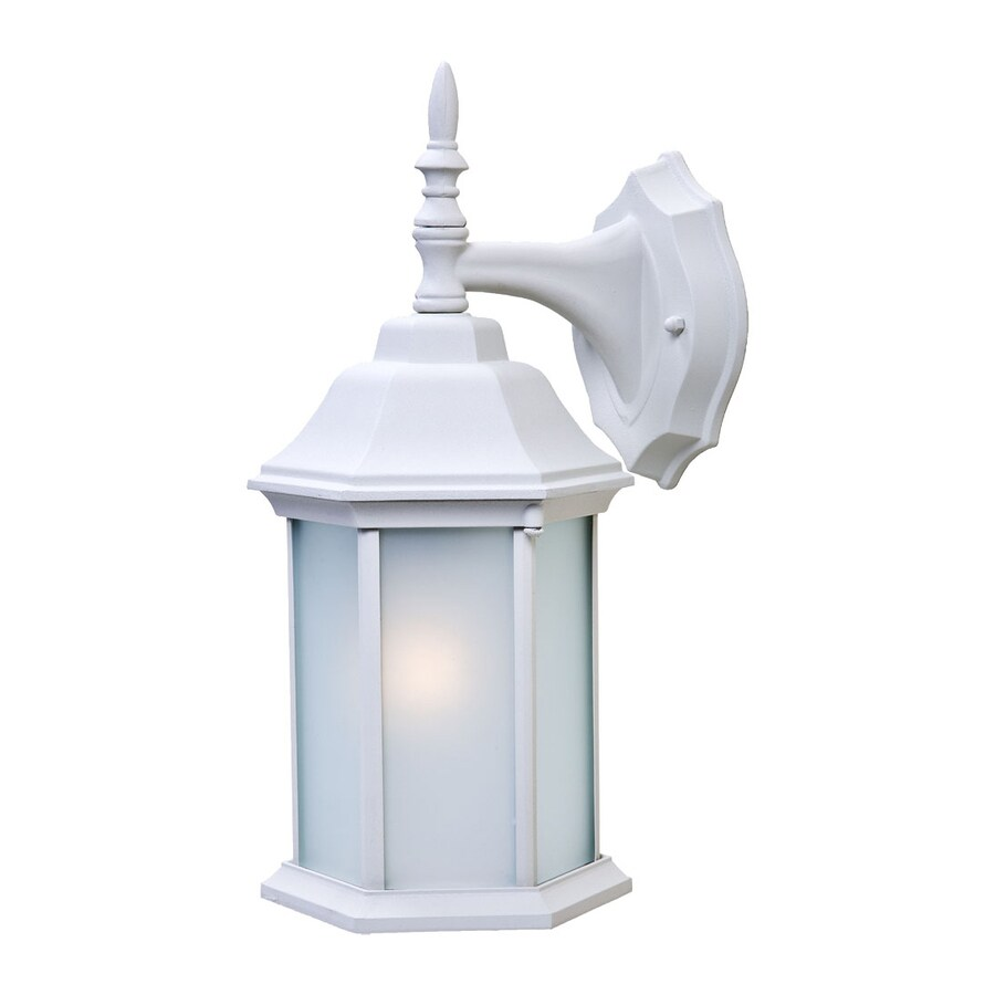 Acclaim Lighting Craftsman 2 13-in H Textured White Outdoor Wall Light