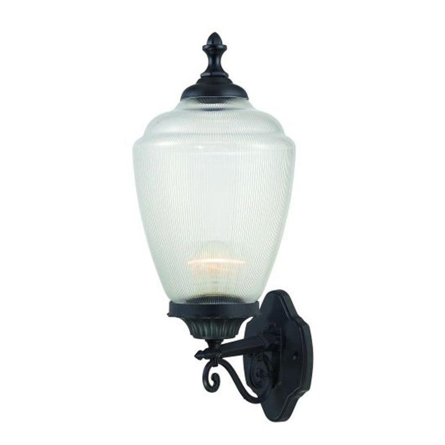 Acclaim Lighting Acorn 22.5-in H Matte Black Outdoor Wall Light
