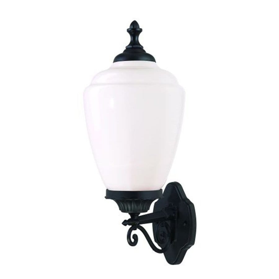 Acclaim Lighting Acorn 22 In H Matte Black Medium Base E 26