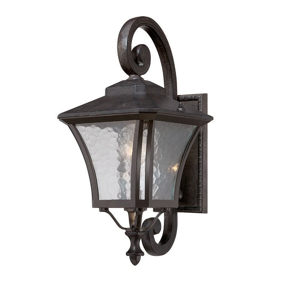 Acclaim Lighting Tuscan 19.5-in H Black Coral Outdoor Wall Light