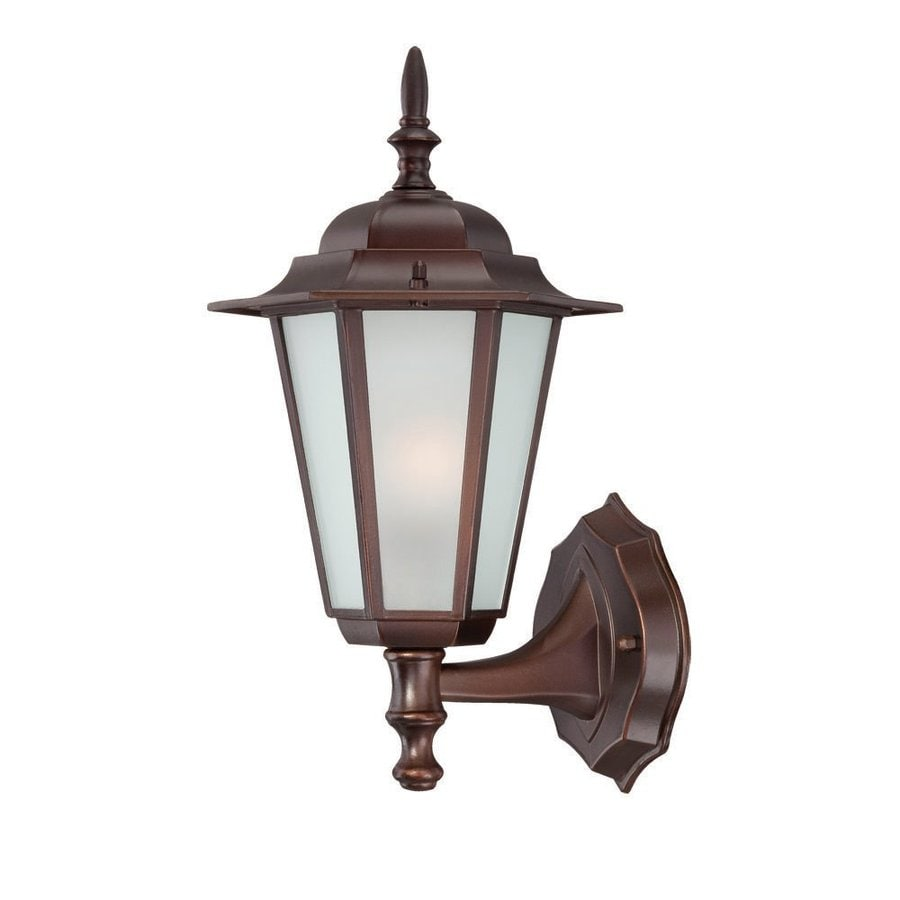 Acclaim Lighting Camelot 14.5-in H Architectural Bronze Outdoor Wall Light