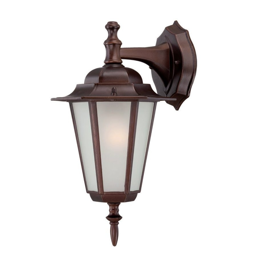 Acclaim Lighting Camelot 14.5-in H Architectural Bronze  Medium Base (E-26) Outdoor Wall Light