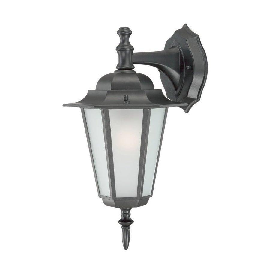 Acclaim Lighting Camelot 14.5-in H Matte Black  Medium Base (E-26) Outdoor Wall Light
