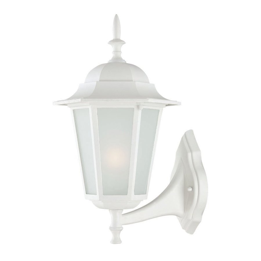 Acclaim Lighting Camelot 16-in H Textured White Outdoor Wall Light