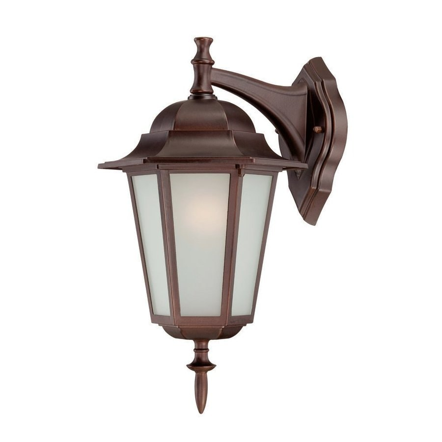 Acclaim Lighting Camelot 15.5-in H Architectural Bronze  Medium Base (E-26) Outdoor Wall Light