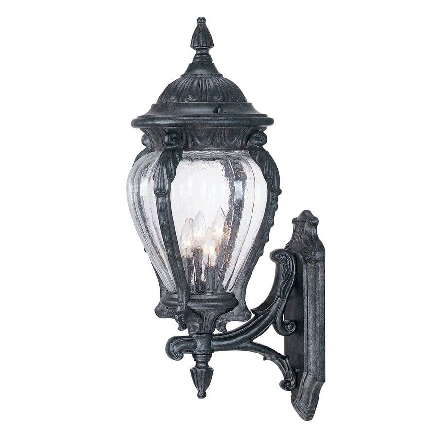 Acclaim Lighting Nottingham 30-in H Stone  Candelabra Base (E-12) Outdoor Wall Light