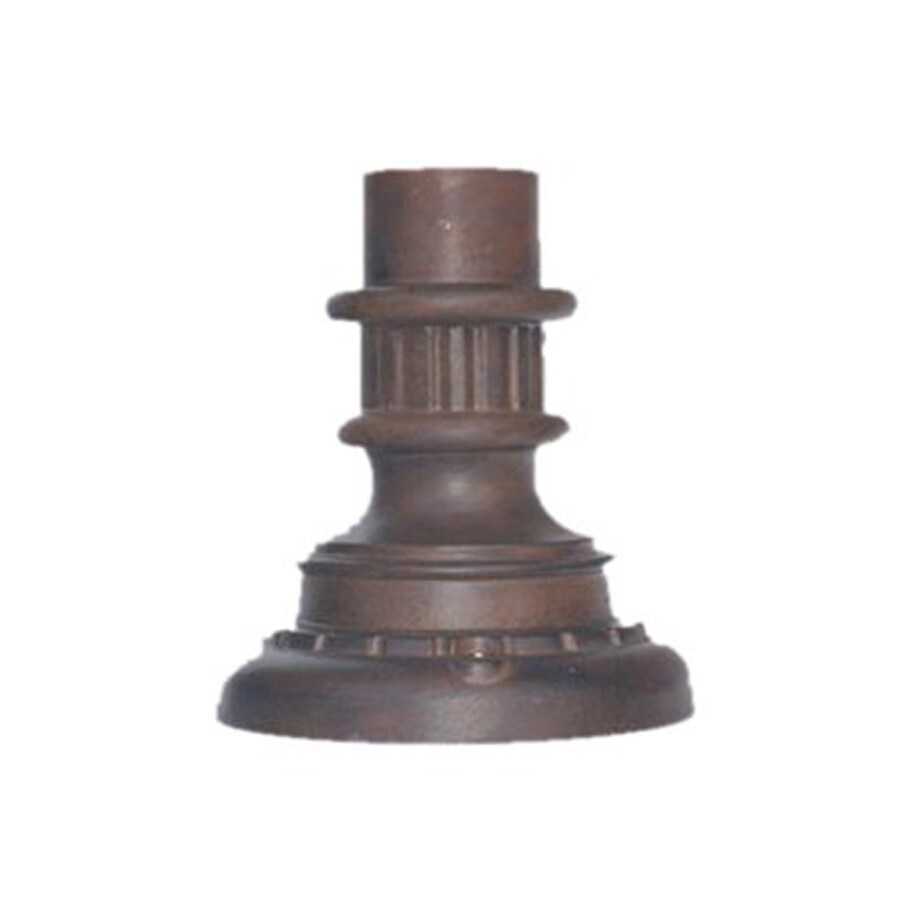 Acclaim Lighting Burled Walnut 9-in Pier Light Mount