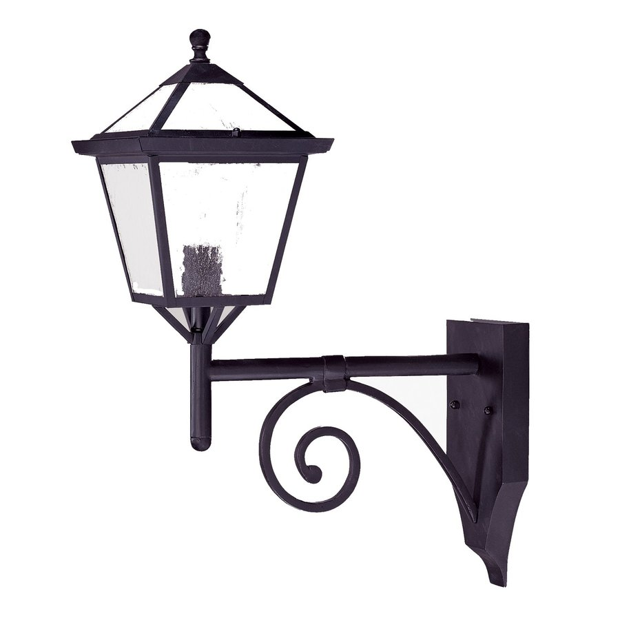 Acclaim Lighting Charleston 23.75-in H Matte Black Outdoor Wall Light