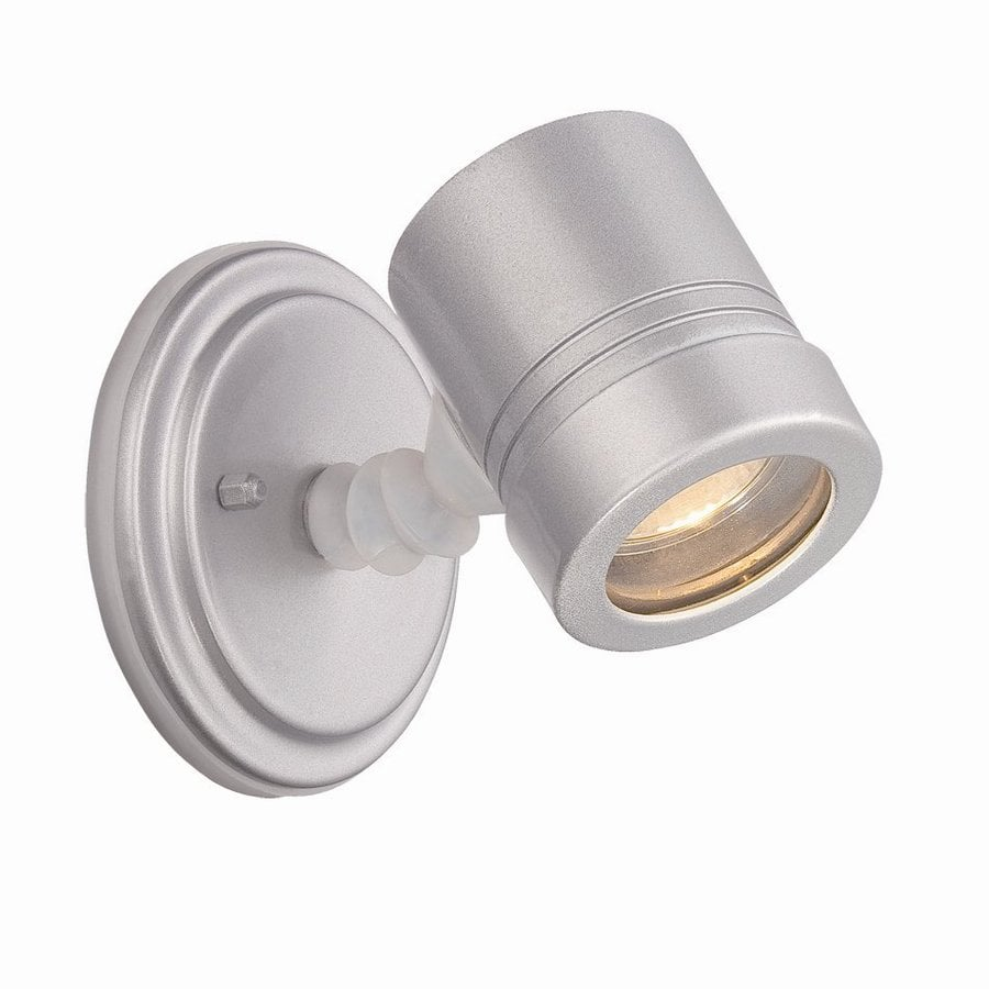 Silver Chrome Wall Lights : Shop Acclaim Lighting Cylinders 5-in H Brushed Silver Outdoor Wall Light at Lowes.com