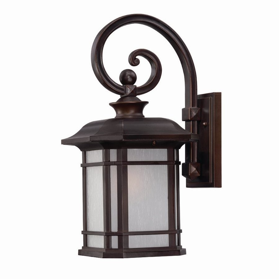 Acclaim Lighting Somerset 18.75-in H Architectural Bronze Outdoor Wall Light