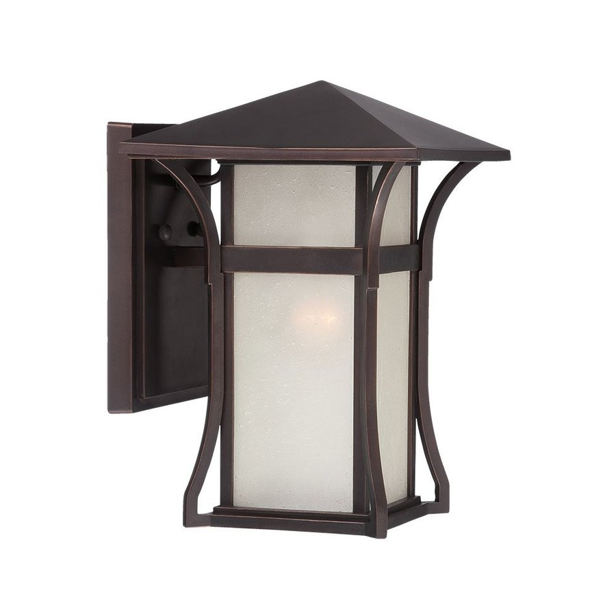 Acclaim Lighting Tahiti 11.75-in H Architectural Bronze Outdoor Wall Light