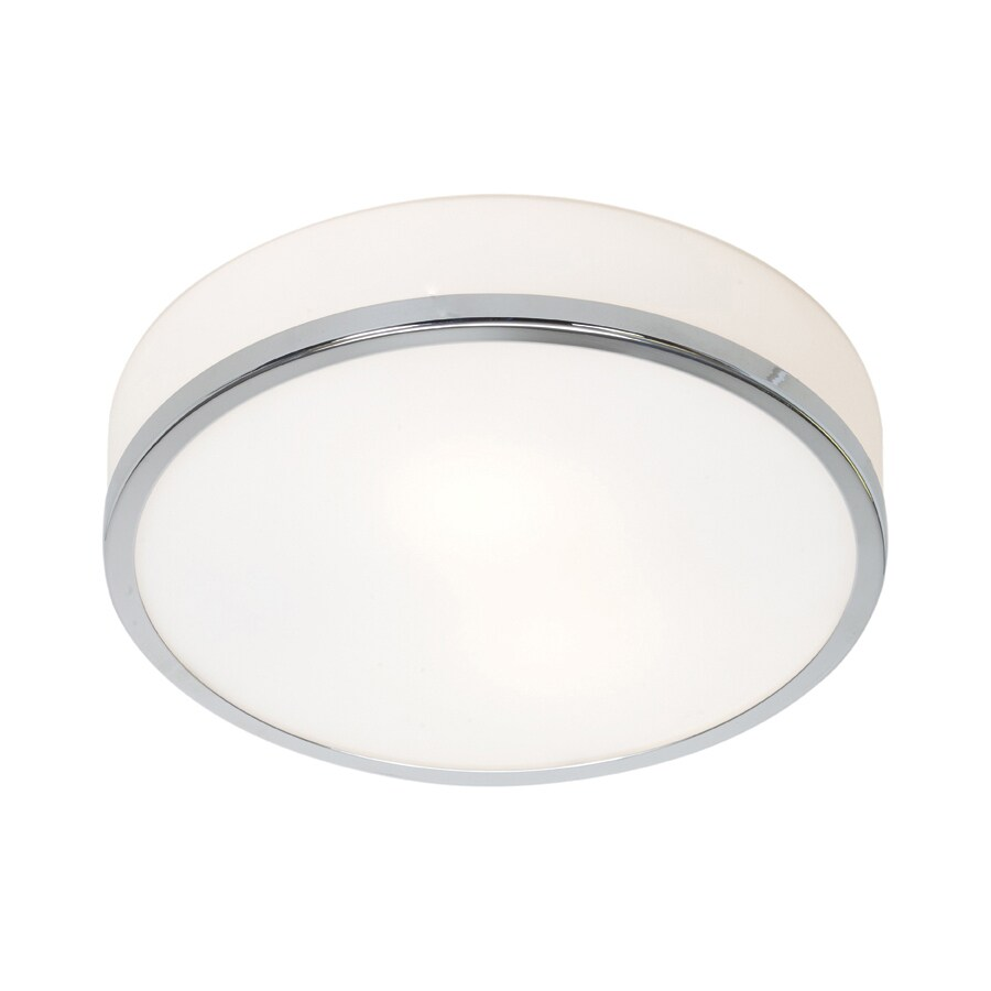 Access Lighting Aero 10-in W Chrome Flush Mount Light