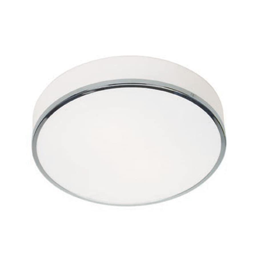 Access Lighting Aero 12.5-in W Chrome Ceiling Flush Mount Light
