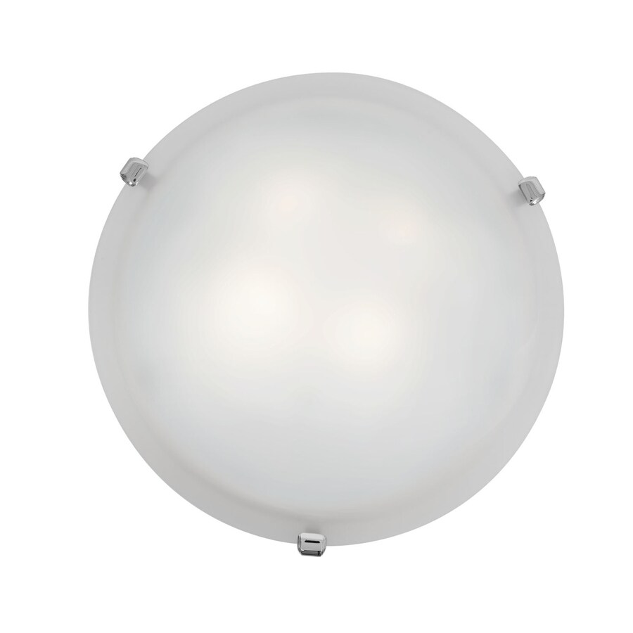 Access Lighting Mona 16-in W Chrome Flush Mount Light