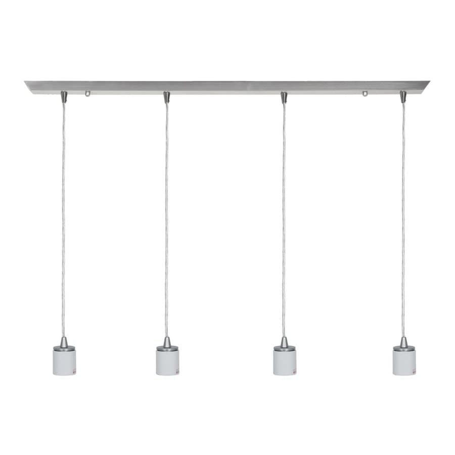 Shop Access Lighting Quada In W Light Brushed Steel Kitchen - Brushed steel kitchen ceiling lights