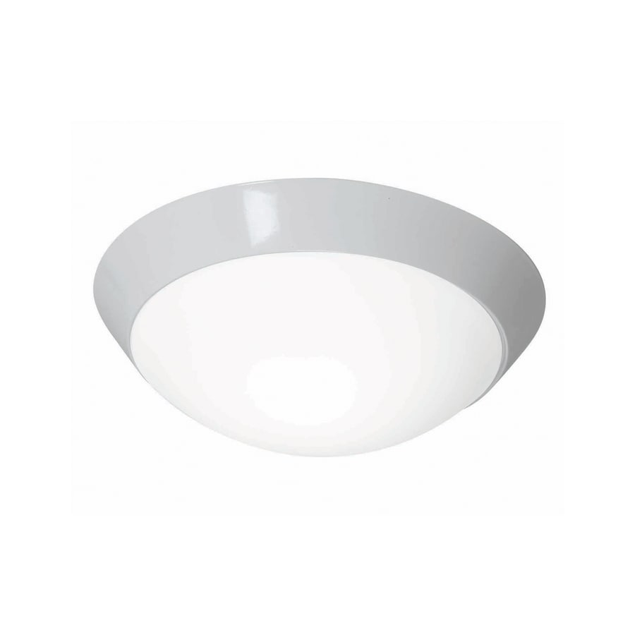 Access Lighting Cobalt 11-in W White Ceiling Flush Mount Light